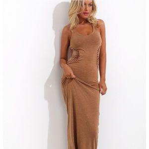 NWOT Hello Molly Maxi Dress